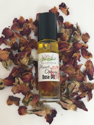 Heart Opening Rose Oil