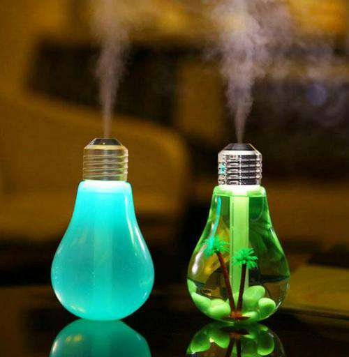 Indoor Decor - Light Bulb USB Home Humidifier