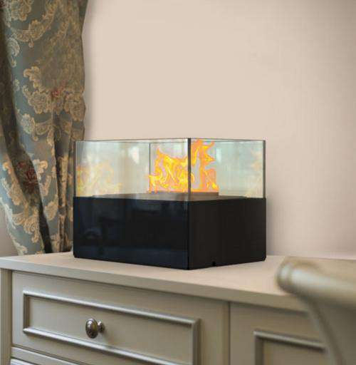 Indoor Furniture - Aqua Flame Cell (Black)