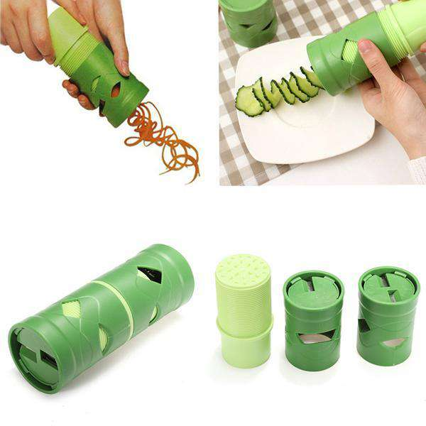 Kitchen Essential - Multi-function Vegetable Rolling Slicer