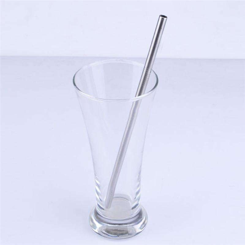 Reusable Stainless Steel Straight Drinking Straw