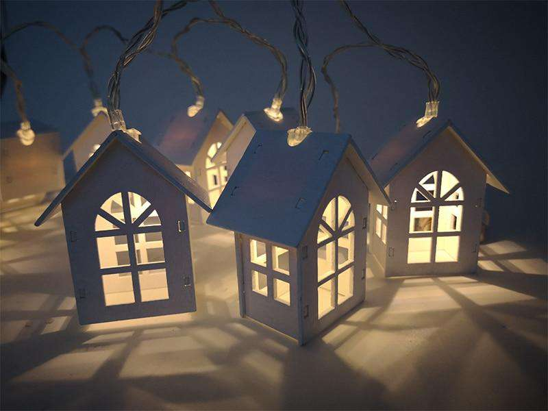 LED Light Tree House (4.9 ft, 10pcs)