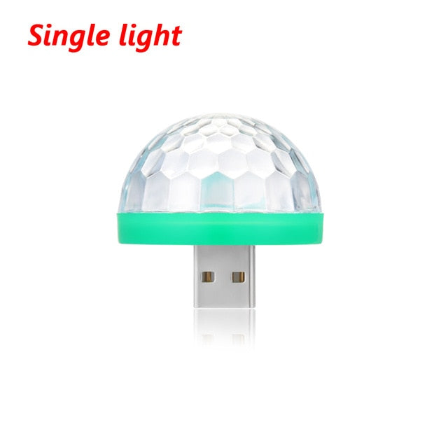 USB  Mushroom Mini Light