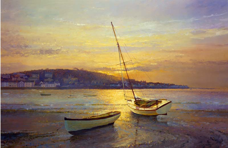 Appledore sunset.' High and Dry'