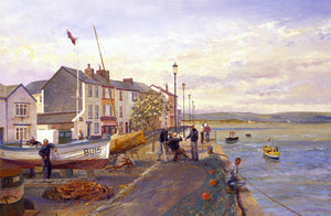 'Appledore Quay. Fisherman's Yarns'