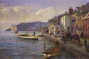 Bayard's Cove Dartmouth. 'The boat trip.'