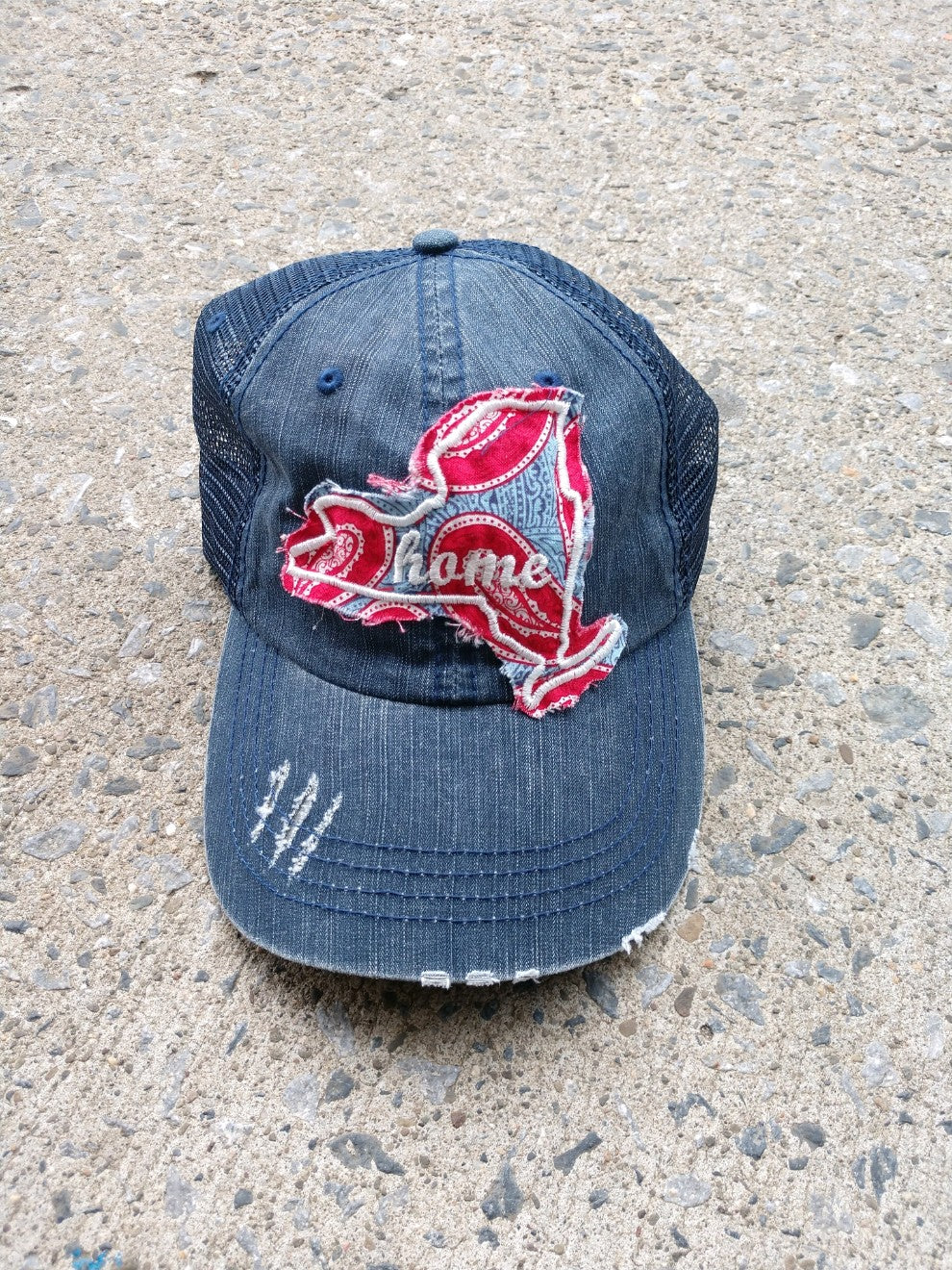 New York Paisley Cut Out Hat