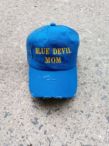 Blue Devil Mom Hat