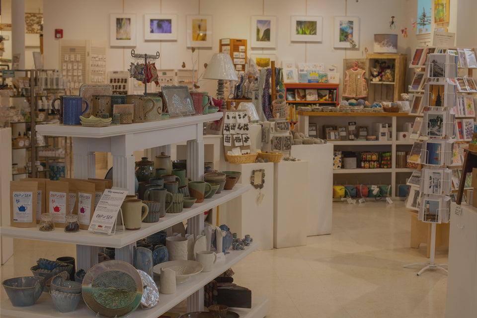 Maine Art And Craft Gallery Gifts Jewelry Housewares