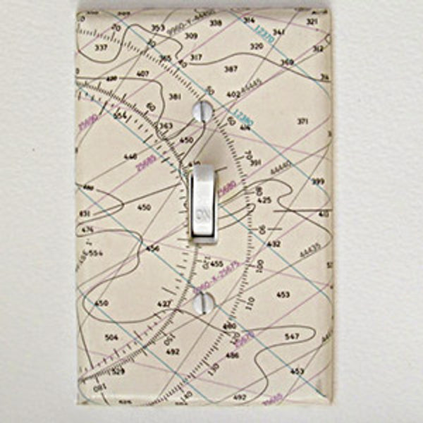Chart Single Switchplate