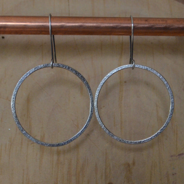 Earrings, Simple Ring XL