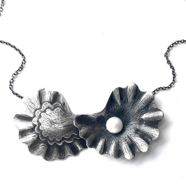 Oyster Pair Pearl Necklace