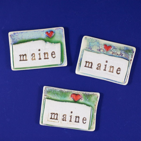 Maine Magnet Devenney Pottery