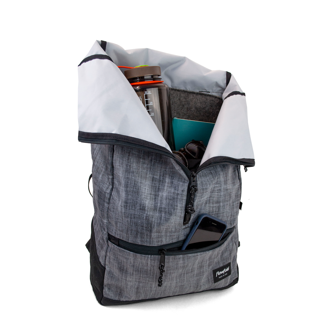 Center Zip Backpack