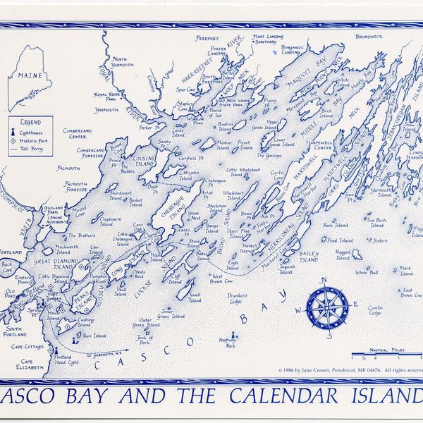 Posters/Casco Bay