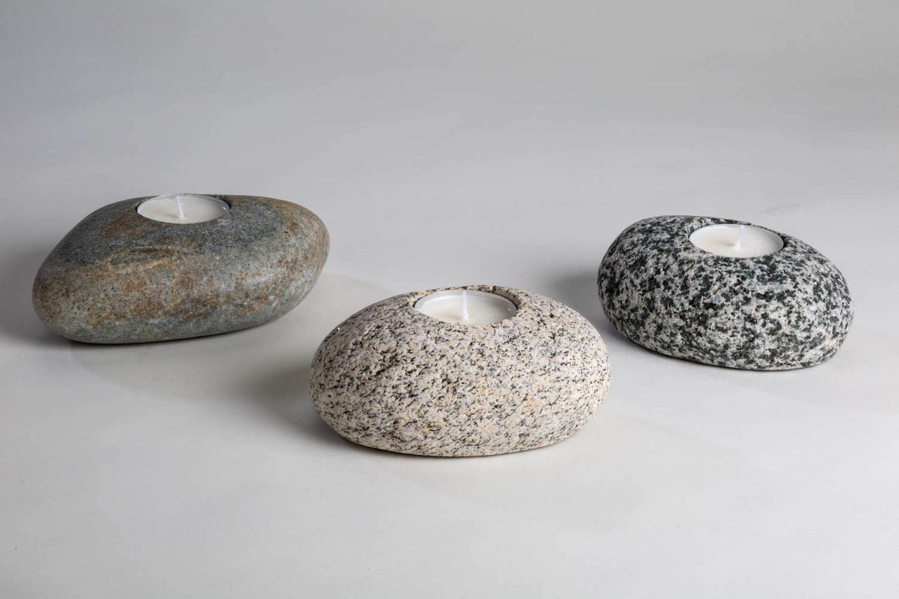 Rock Tea Light