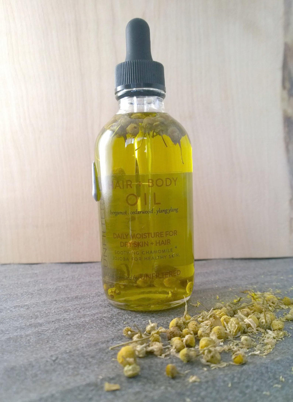 Hair and Body Oil 4oz