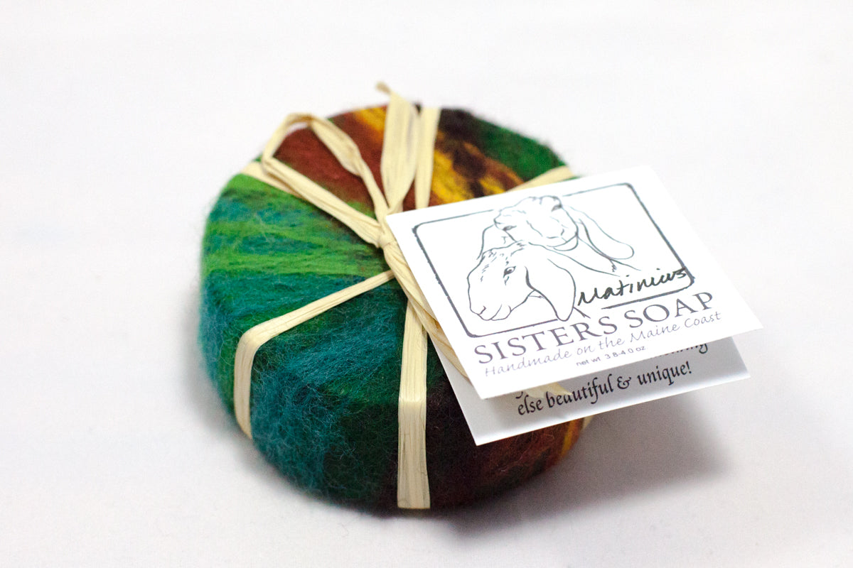 Felted Soap - Island Collection