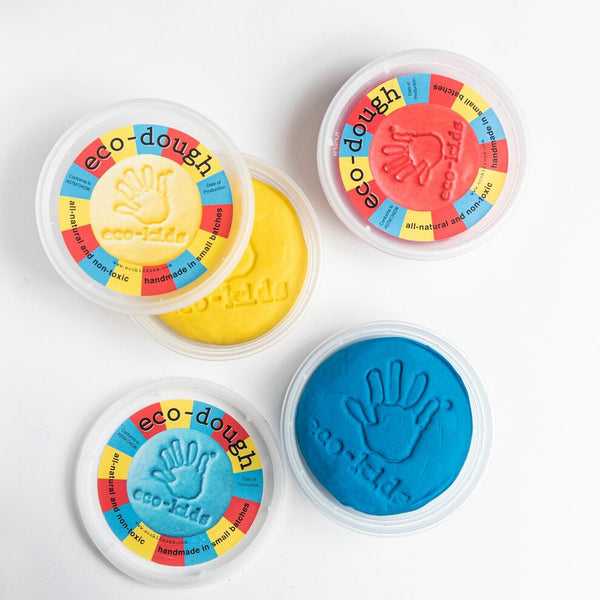 Primary Color Eco-Dough