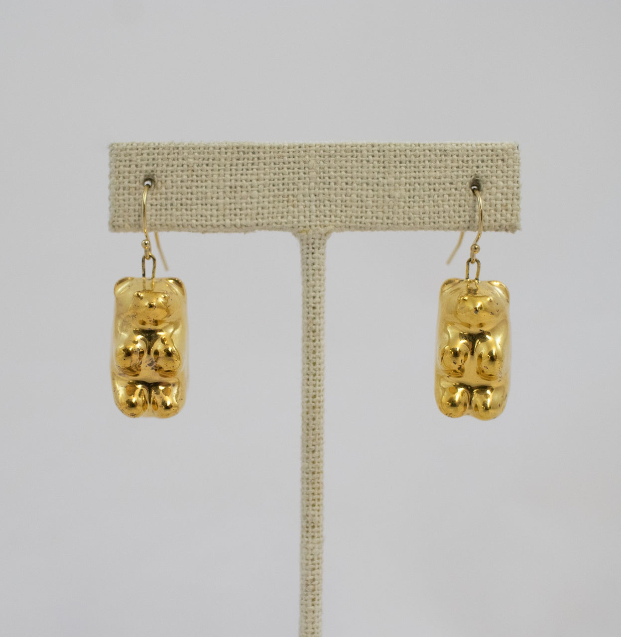 Earring, Gummy Bear Gold