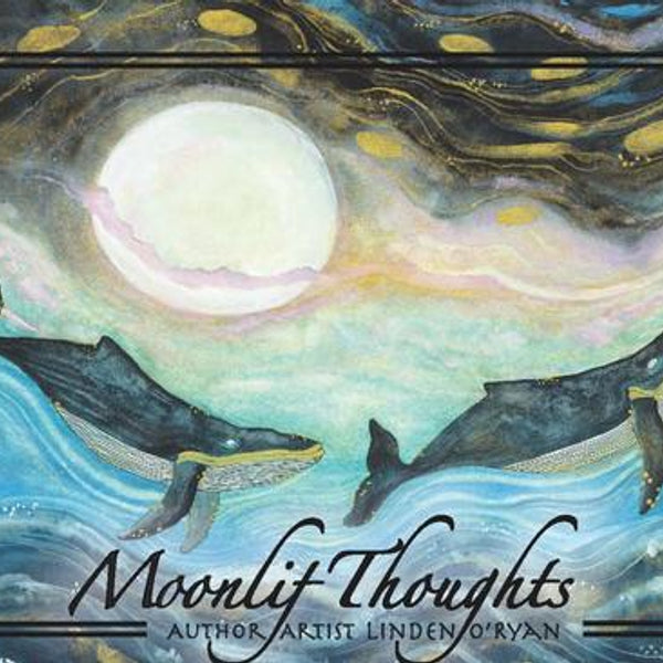 Moonlit Thoughts Postcard Book