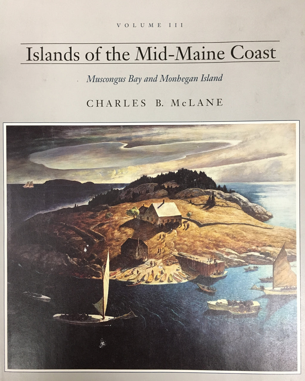 McLane vol. III: Muscongus Bay and Monhegan Island (Hard Cover)