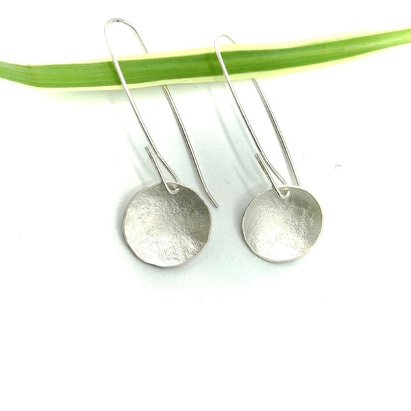 Earring, Moss disk long