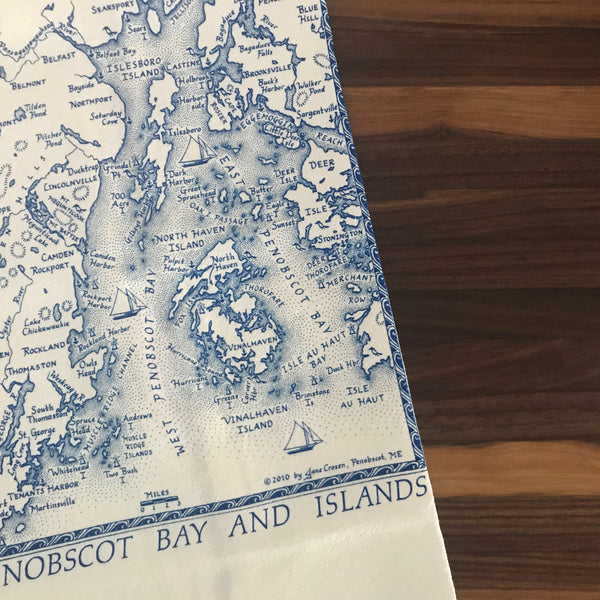 Pen Bay Tea Towel