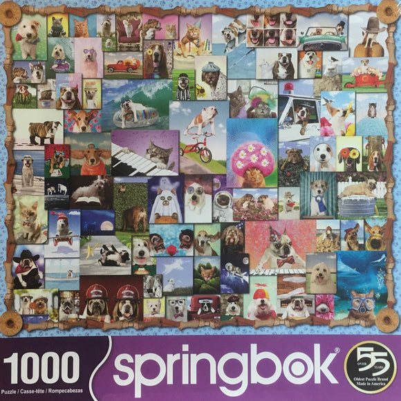 Animal Quackers 1000 Piece Puzzle