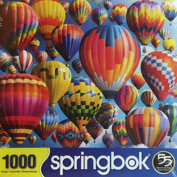 Balloon Fest 1000 Piece Puzzle