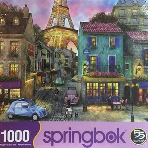 Eiffel Magic 1000 Piece Puzzle