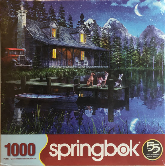 Moonlit Night 1000 Piece Puzzle