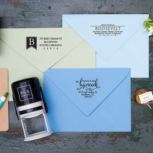 PSA Personalized Address Stamp Gift Box