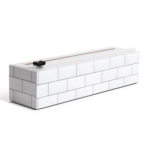 "Chicwrap Plastic Wrap Dispenser 9"" (NEW!) - Subway Tile"