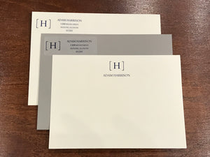 Personalized Notecards - Adam Harrison