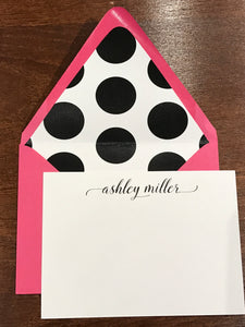 Personalized Notecards - Ashley Miller
