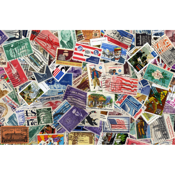 US Stamp Collection 1000 Piece Puzzle