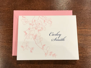 Personalized Notecards - Carley Smith Floral