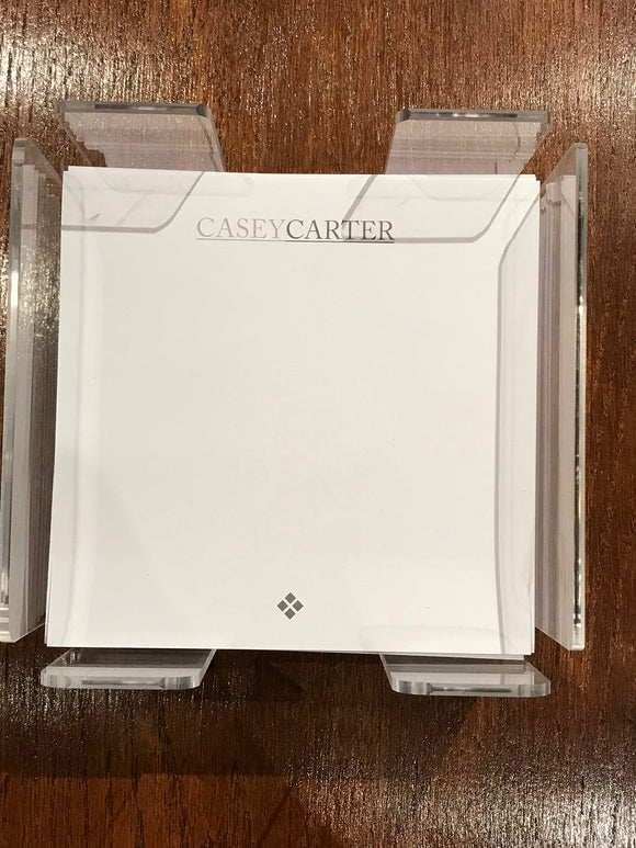 Personalized Memo Cubes - Casey Carter