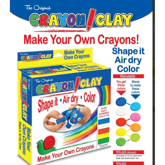 Crayon Clay Kit