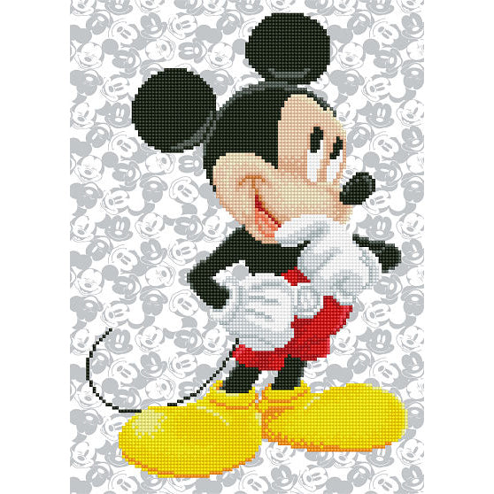 Diamond Painting Kit - 12x17 Mickey Mouse
