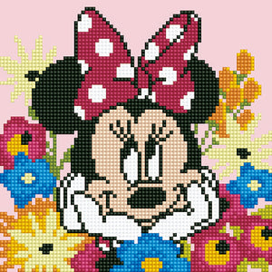 Diamond Painting Kit - 12x12 Minnie Daydreaming