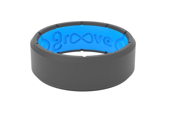 Groove Ring Mens - Edge Deep Stone Grey