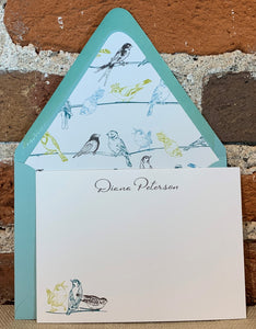 Personalized Notecards - Diana Peterson Birds