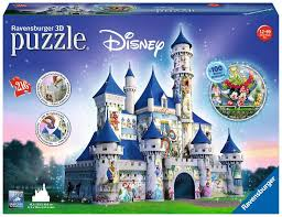 Disney Castle 3D Puzzle 216 pieces