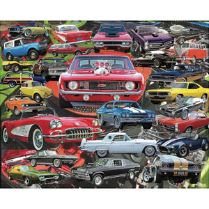 Favorite Cars - 1000 Piece Puzzle