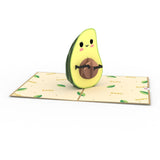 Gonna Avo Baby Lovepop Pop-up Greeting Card - stamps included
