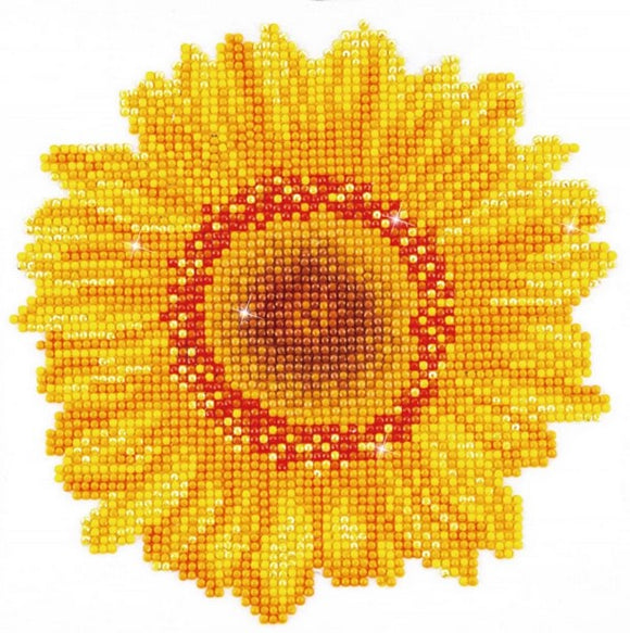 Diamond Painting Kit - 8x8 Happy Day Sunflower