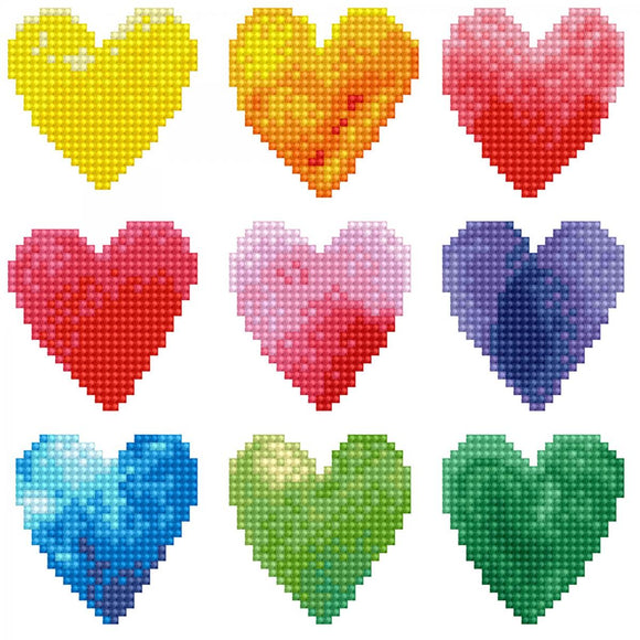 Diamond Painting Kit - 8x10 Love Rainbow