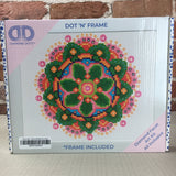 Diamond Paint Kit - 8x10 Flower Mandala - Frame included